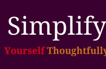 Simplify header
